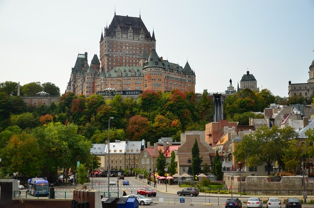 Palace in Quebec City